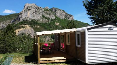 Photo for Camping Princes of Orange **** - Comfort Cottage 4 rooms 6 people