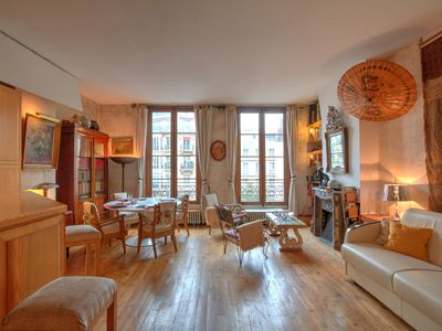 Photo for View Notre-Dame in Quartier Latin with A/C. 65m², free Wifi