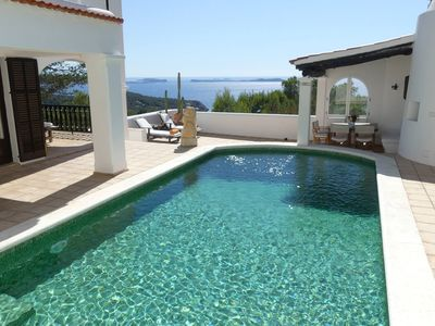 Photo for Lovely Villa Roxy in Ibiza, with private pool, 4 bedrooms, 8 sleeps.
