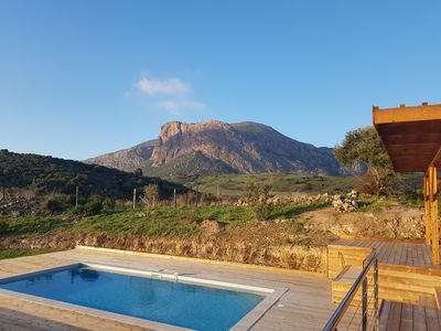 Photo for New studio with wonderful sea mountain overview - close to Ajaccio beaches