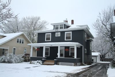 The beautiful Wayman House was built in 1901!