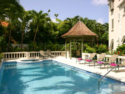Photo for Luxury Ocean View Apartment at Beacon Hill, Mullins on Barbados West Coast