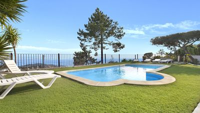 Photo for Villa Palmeras - Beautiful villa with pool and magnificent sea views