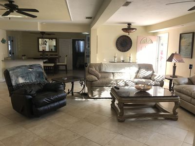 Photo for Gorgeous Pool & Lanai. Minutes from Siesta Key.