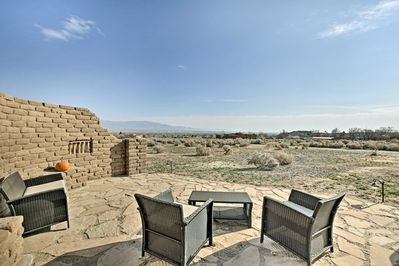 Experience the Land of Enchantment from 'Cozy Adobe Southwest Getaway!'
