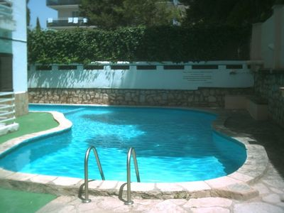 Photo for APARTMENT RESIDENCE WITH POOL CENTER TOWN 300M FROM THE BEACH WITH SWIMMING POOL