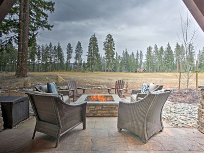 Photo for Cle Elum Home on Golf Course w/ Fire Pit & Hot Tub