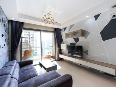 Photo for Pool view, Luxury 2BR 2BA Apt, Near DT- 1.6km,