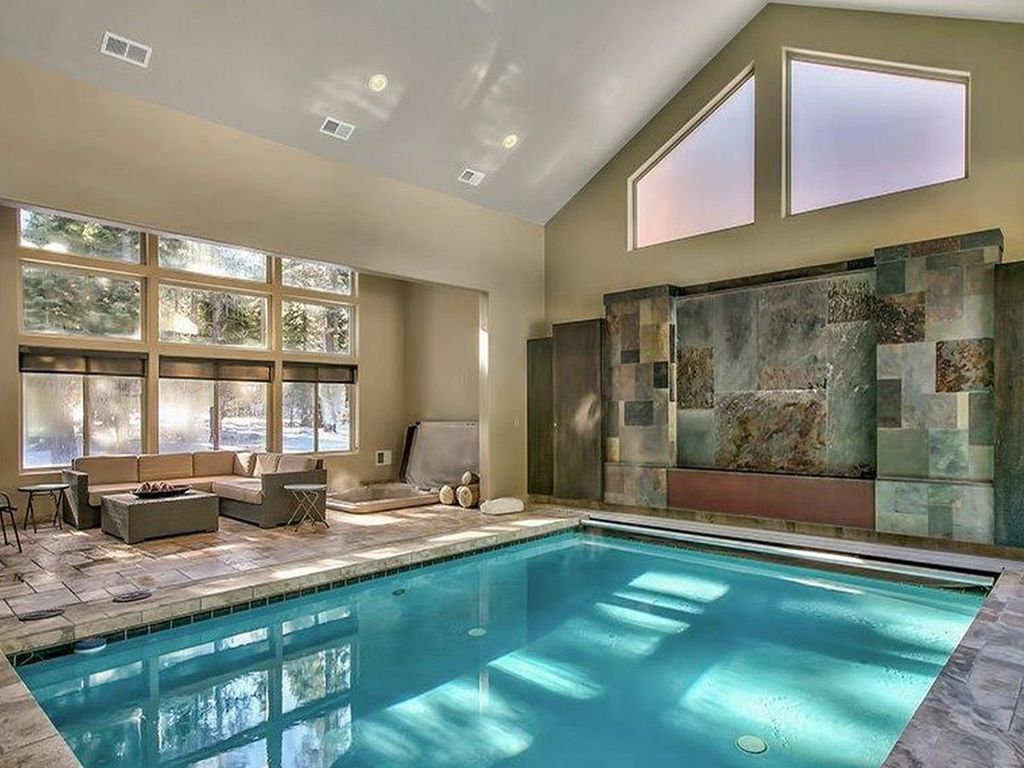 Home indoor pool and hot tub  Luxury house in South Lake tahoe, indoor po... - VRBO