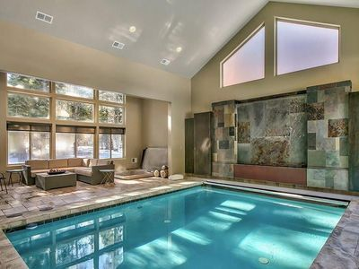 Home indoor pool and hot tub  Shawnee: Luxury house in South Lake tahoe, indoor pool, hot ...