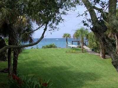 Photo for Gorgeous Home On Private Beach, Lovely Natural 1 Acre Grounds On Gulf Of Mexico.
