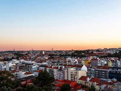 Photo for Amazing apartment with incredible views overlooking Lisbon