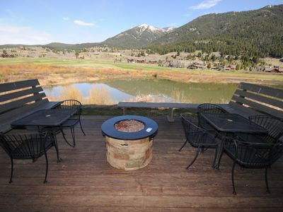 Gorgeous View! Best Deal in Big Sky Winter/Summer: WIFI, HotTub, Pool, Fireplace