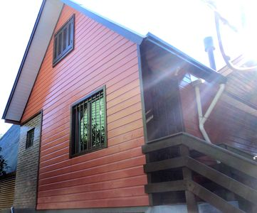 Photo for Chalet Canela (rustic cabin, duplex, near the center, quiet place)