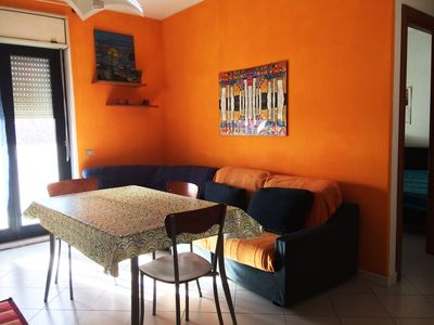 Photo for Delightful colorful and bright apartment in Cagliari 15 minutes from the sea