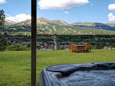 Photo for Hot Tub, Pet-Friendly, 2050 sf, walk to town or free shuttle stop. Views+++