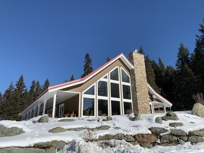 Photo for Ski at Sun Peaks and stay at our Family Lodge & 8 Cabins on 80 Acres