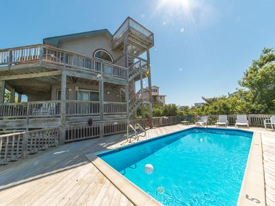 Photo for D0474 Banana Republic. Private Pool, Ocean & Sound View, Linens, WiFi!