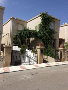 Photo for Large house with terraces and barbecue half a minute walk from the beach.