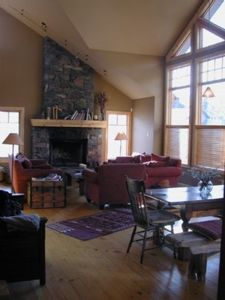 Photo for This House Defines Mountain Living.  Longer Term Rentals Preferred.