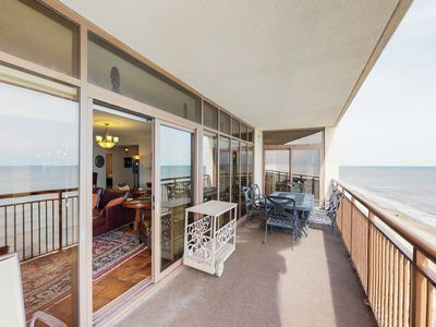 Photo for Oceanfront condo w/ beautiful views, balcony & shared pool/hot tub!