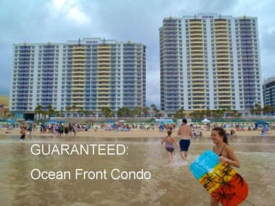 Photo for Ocean Front Condo Wyndham Ocean Walk Resort