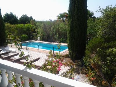 Photo for Two bedroom private unit within a villa, with sole use of swimming pool area