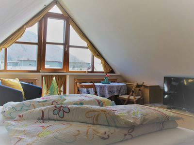 Photo for Cozy fully furnished self-catering 2-room studio with Grünbergblick!