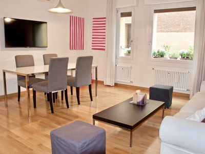 Photo for Luxury one bedroom in the heart of Bologna