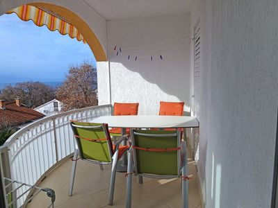 Photo for Nice apartment with balcony just 100m from the beach