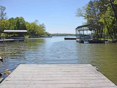 Photo for Upscale 3BR on Old Hickory Lake w/Private Dock & Hot Tub, Close to Nashville.
