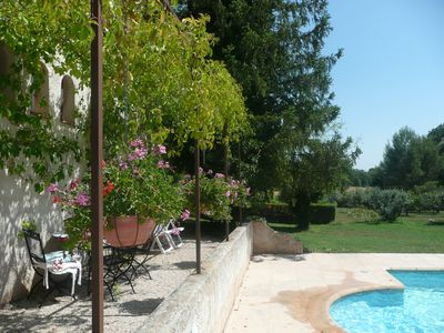 Photo for Holiday rental with pool secured pleasant site ideal rest