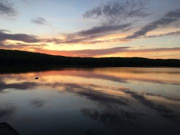 West Hill Lake, Connecticut, USA