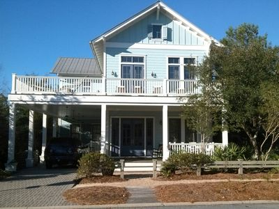 Photo for * Beautiful 4 BR Pet Friendly WaterColor Home - located near the New Camp Pool *