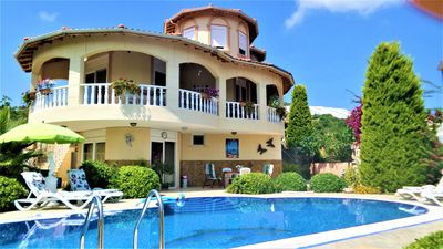 Photo for Gorgeous private Villa, large private pool, beautiful garden and orchard