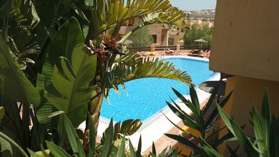 Photo for Stunning Penthouse with  views off the Sea and golf course (Duquesa village)