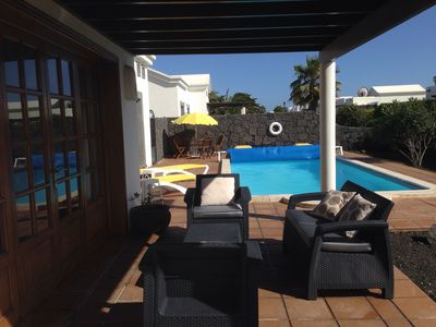 Photo for Exclusive Luxury Villa With Heated Private Pool & Distant Sea Views