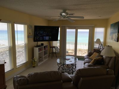 Photo for Sandollar Penthouse Gulf Front End Unit 2 Bedroom Best Deal on the Gulf