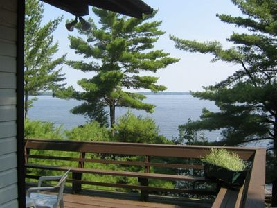 Photo for Amazing Views, Private Lakefront Cottage