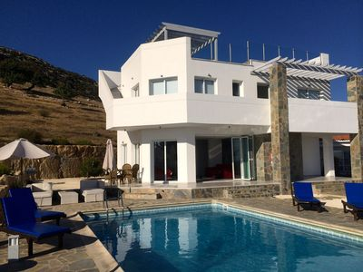 Photo for Private Villa With Pool And Breathtaking Sea Views