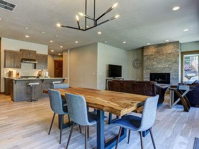 Photo for Stunning & Modern, Fire Pit, A/C, Close to Golf & Mt Bachelor