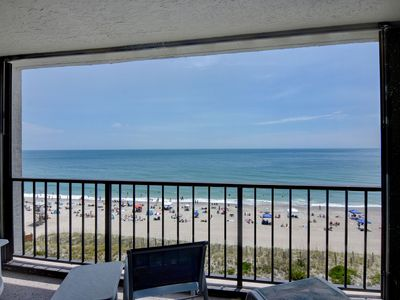 Photo for Station One - 7C Bowers - Oceanfront condo with community pool, tennis, beach
