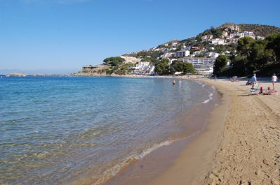 almadrava beach only 70 meters from home