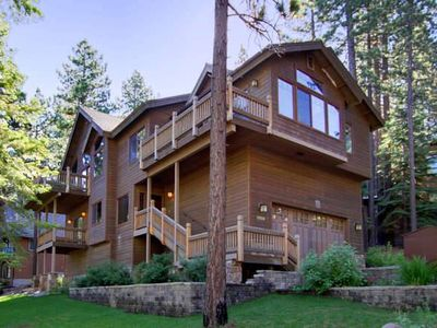 Photo for Nestled at the Base of Heavenly, 5 bedrooms, beautiful!, hot tub, pool table