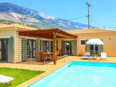 Photo for Villa Nora: Large Private Pool, Walk to Beach, Sea Views, A/C, WiFi, Car Not Required