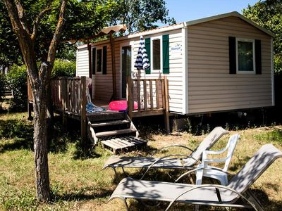 Photo for Camping Les Rives du Luberon **** - Mobile Home 3-Room Villa 4/6 People