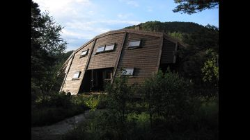 Western Norway Norway. Unusual architect designed cabin. Peaceful setting. Near the water.