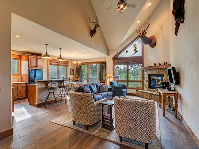 Photo for Ski-In/Ski-Out Beautiful Luxury Condo - Private Hot Tub, Garage Parking!