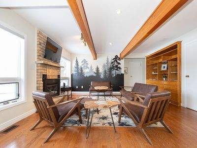 Photo for Rustic Chalet Style Home - Under an hour from Toronto #RusticRetreatGTA