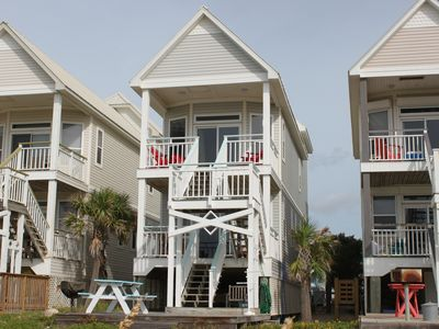 Photo for A sweet BEACH cottage. walking distance to everything, Sleeps 10.   2292000277